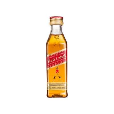 Johnnie Walker Red Label 50 ml (Miniatura)