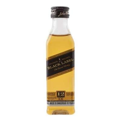 Johnnie Walker Black Label 50ml (Miniatura)