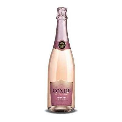 Conde de Foucauld Rosé Demi Sec 750ml